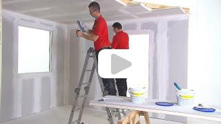 zelf muren pleisteren en herstellen. Black Bedroom Furniture Sets. Home Design Ideas
