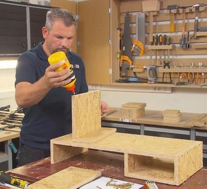 kolomboor freestafel schuurtafel zelf maken hulpstuk werkplaats inrichten