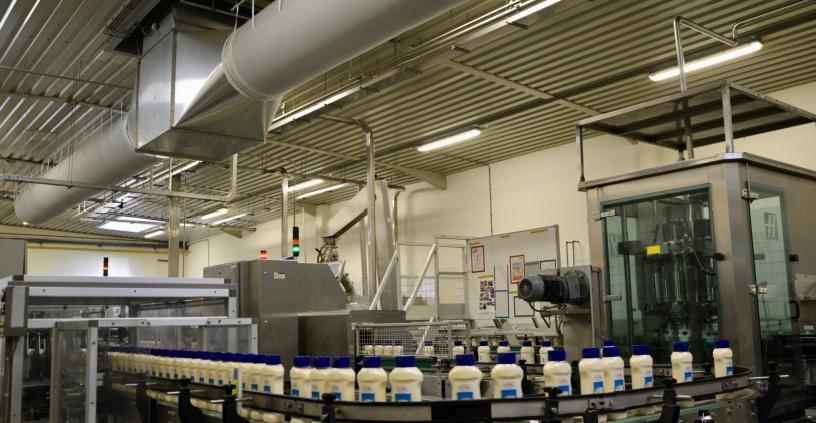 Bij Pauwels Sauzen produceert men op jaarbasis 100 miljoen kilogram sauzen