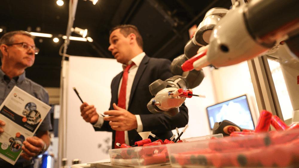 Het wordt steeds eenvoudiger robots in te zetten om productieprocessen te automatiseren