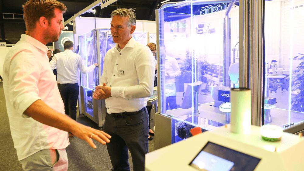 Met een bezoek bent u in 1 dag op de hoogte van de nieuwste producten op het gebied van vision, robotica & aandrijftechniek