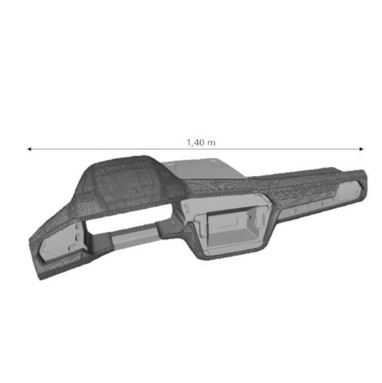 Onder andere voor het dashboard van de Volkswagen Tiguan werd gebruik gemaakt van lasertextureren, voor het esthetische effect