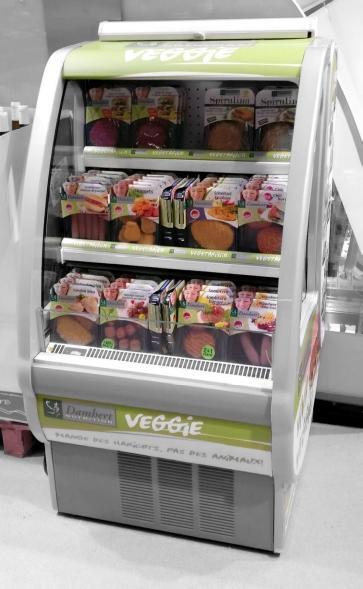 Hou vegetarisch/vegan ook nog apart, overtuigde vegetariërs blijven liever uit de buurt van vlees