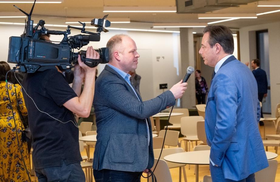 """Tom Bellens, CEO de Push To Talk: """"Les événements doivent laisser une place au dialogue"""""""