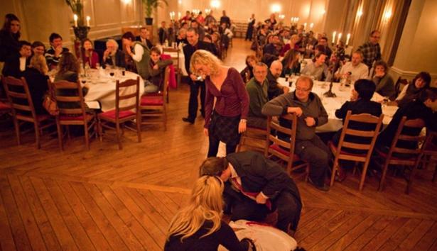 Bij teambuildings valt sinds kort de verschuiving naar meer sociale interactie op – Foto: Event Masters