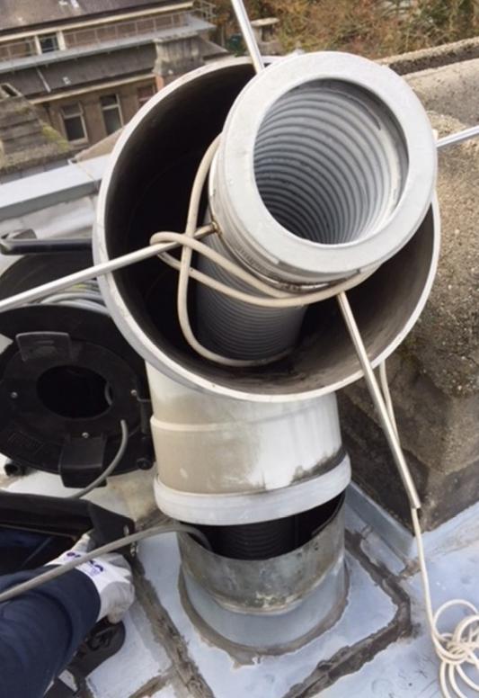 Een visuele camera-inspectie levert de broodnodige informatie over de interne toestand van de schouw