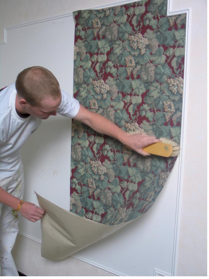 Goffinet d coration papier peint papier peint et for Image murale a tapisser
