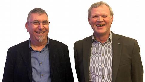 Jeroen Doom (Woodwize) en Marc Vens (Vens & Thiers)