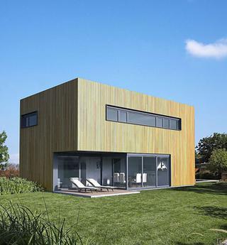 Bien que la Belgique ait toujours une brique dans le ventre, les façades en bois fleurissent de plus en plus chez nous