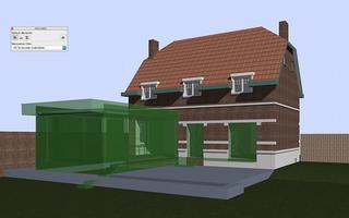 BIM wordt niet enkel gebruikt voor nieuwbouwprojecten. Bij renovatieprojecten kan het interessant zijn om een 3D-model te maken van de bestaande toestand, waarin de architect vervolgens verder kan ontwerpen