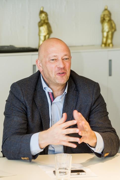 Ben Bomhals, Business Development Manager Stadsbader(Foto's: Marc Sourbron)
