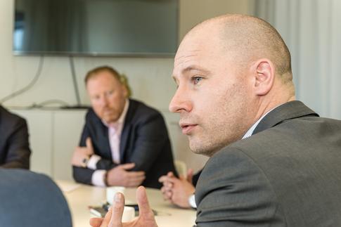 Jurgen Philtjens, Account Manager bij Nelissen Steenfabriek (Foto's: Marc Sourbron)