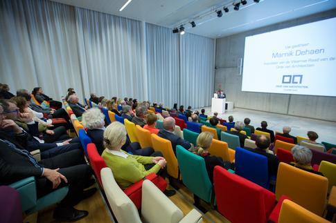 Nieuwjaarsreceptie Orde van Architecten - Vlaamse Raad, Marnik Dehaen