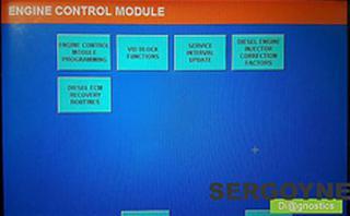 """Om de VID Block in de motor-ECU te wijzigen, gaan we naar het menu 'Module programming and replacement' en selecteren daar 'Engine control module'. Vervolgens selecteren we 'VID Block Functions' en 'Create New VID Block"""" voor de creatie van een nieuwe codeerstring in de motor-ECU"""