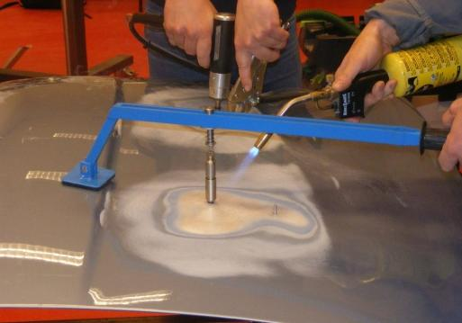 aluminium koetswerk brander