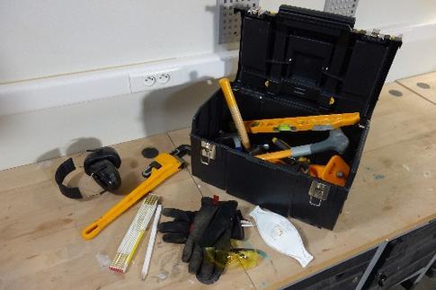 toolbox, gereedschapskoffer, gereedschapskist