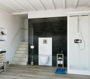 Extra toilet inbouw wc sanibroyeur