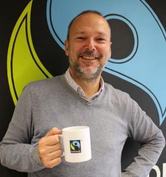 """Nicolas Lambert, Fairtrade Belgium:  """"Naast de toppers koffie, bananen, cacao  en suiker zien we intussen ook een mooie progressie voor fairtradeproducten zoals rozen en katoen"""""""
