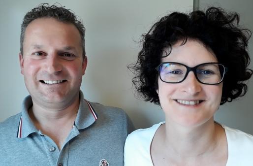 Zaakvoerders Jo Herbots en Sylvia Stevens