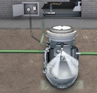 Het ledigen en reinigen kan volledig automatisch, zodat de afscheider niet moet worden geopend