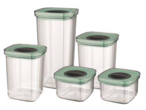 De Smart seal food containers van BergHOFF hebben een compact deksel voor een optimale ruimtebenutting. Bovendien zijn ze uitgerust met een twist-lock sluiting die lucht- en waterdicht afsluit