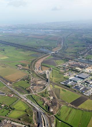 """""""Le projet de l'A11 à Zeebruges frappe l'imagination et est utilisé pour convaincre les gens de choisir un emploi dans le secteur de la construction des routes"""""""