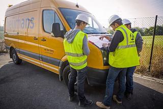 Voorbereiding en studiewerk staan centraal bij Heijmans Infra.Enkel zo kan het terreinwerk efficiënt afgerond worden zonder faalkosten