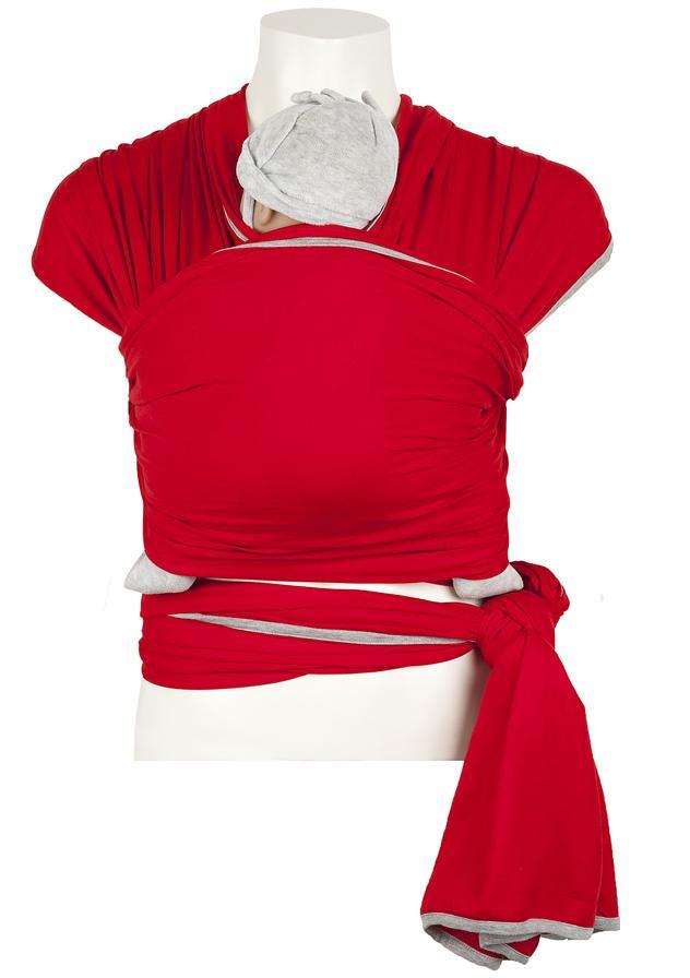 De draagdoeken van  With a touch of Rose  zijn gemaakt van 100% biologisch en Fairtrade katoen