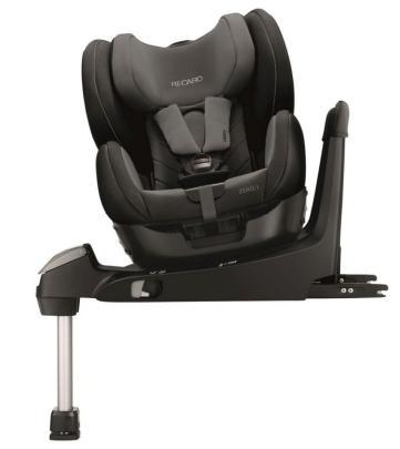 Dankzij het roteersysteem van dit stoeltje van Recaro valt een kindje er makkelijk in te plaatsen