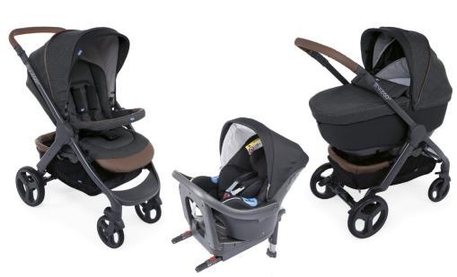 Autostoelen Chicco OASYS 0+ UP en Chicco OASYS i-Size, inbegrepen in Trio StyleGo Up & i-Size, laten  een app alarmeren wanneer een kindje er nog in zit nadat de ouder de wagen verlaten heeft