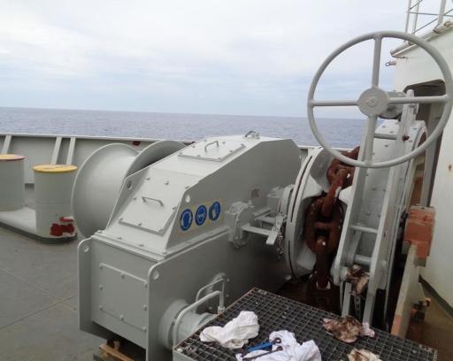 Ook kettingen op bijvoorbeeld schepen kunnen door middel van smeermiddelen worden beschermd tegen corrosie. Dit is niet altijd nodig