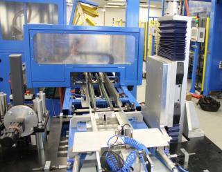De HDCS compacte heavydutybalk met spindel van Hepco levert de benodigde neerwaartse z-verplaatsing