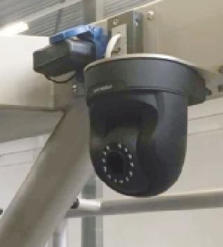 Bij A-Tec wordt al bijna standaard een IP-camera in de configuratie gehangen