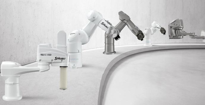 Stäubli onthult nieuwe generatie SCARA robots