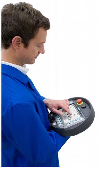 HMI's kunnen mobiel worden uitgevoerd,wat het gebruiksgemak verhoogt voor de operator