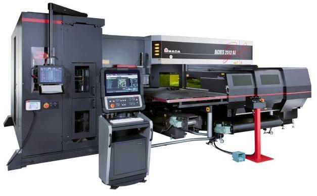 Prima Power integreert de Combi Genius 1530 in een volledig geautomatiseerde productielijn, waarin de producten ook gebufferd en gebogen worden. De nieuwe Genius pons-lasercombi beschikt nu over dezelfde features als de standalone laser