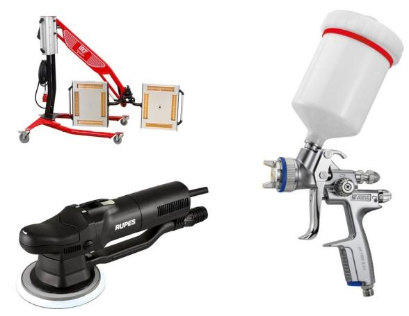 Vip Tools beschikt over de beste apparatuur op het gebied van oppervlaktebehandeling