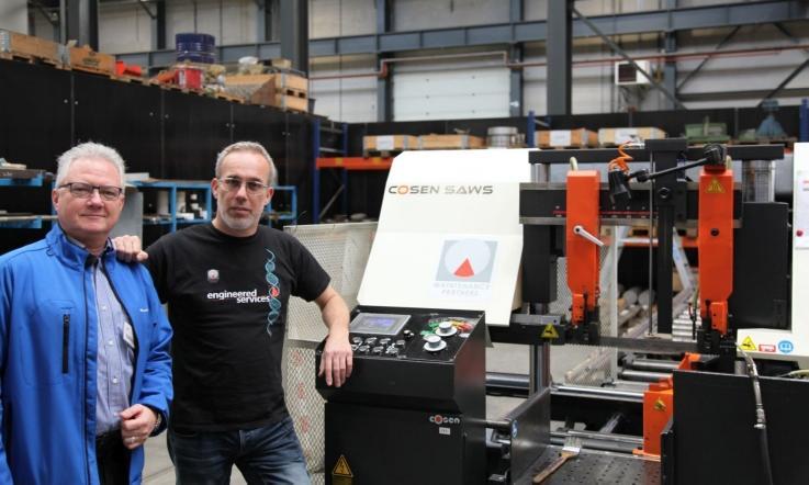 Dirk Geleleens van Buhlmann (links) en Eljakim Blokland van Maintenance Partners (rechts)