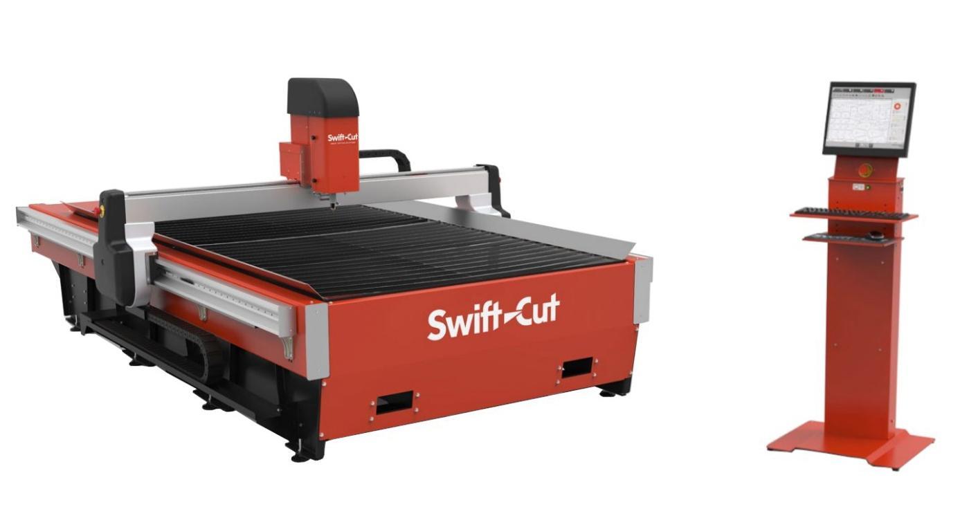 De nieuwe SwiftCut PRO MK4-brandsnijmachine