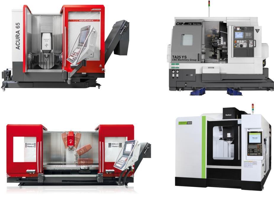 Promas heeft onder meer machines van Hedelius, Hartford en CMZ
