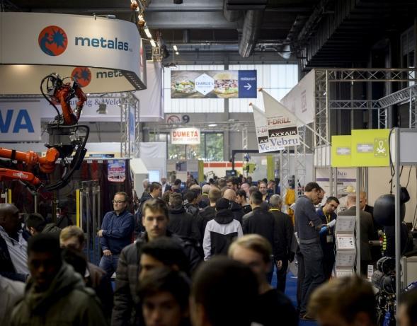 Welding Week vindt plaats op 19, 20 en 21 november 2019 in hal 4 van de vernieuwde Antwerp Expo