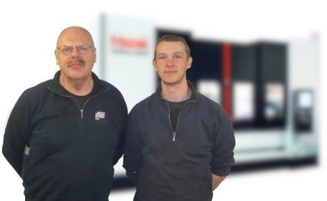Yvan Dugardein (links)en Andy Veryser (rechts)
