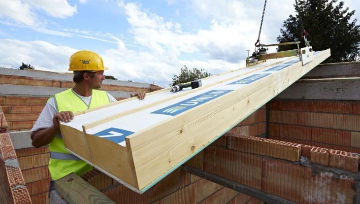 isolerende zelfdragende dakpanelen