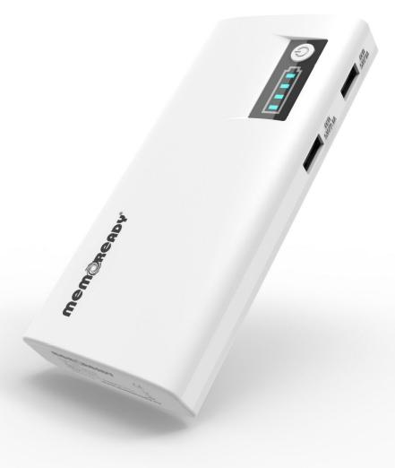 Memoready powerbank van Memorax