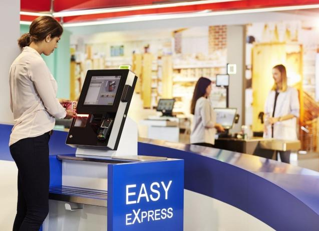 Easy Express selfcheck-out, selfscan