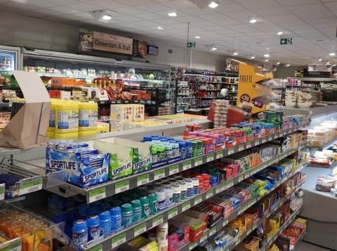 De winkel biedt in één oogposlag een helikopteroverzicht over haar producten