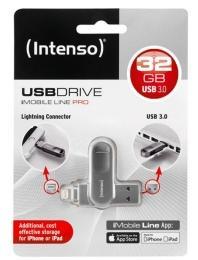 Met deze nieuwe USB-stick  van Intenso kun je het geheugen van je iPhone of iPad snel uitbreiden of eenvoudig ledigen