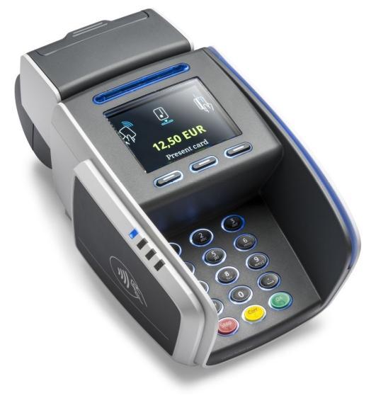De terminal VALINA van Worldline aanvaardt alle elektronische betaalmiddelen met en zonder pincode. Een greep uit de mogelijkheden: gebruik van getrouwheidskaarten, weergave van promo's en uitbreiding met betaalapps, dankzij het Android besturingssysteem en de krachtige processor