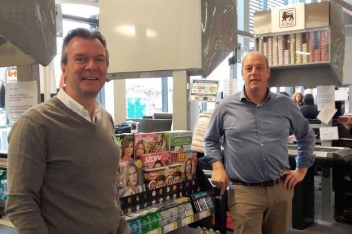 Broers Hans en Geert Van Brussel (Delhaize)