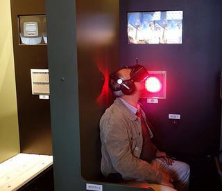 De rondleiding kan aangevuld worden door de VR Experience
